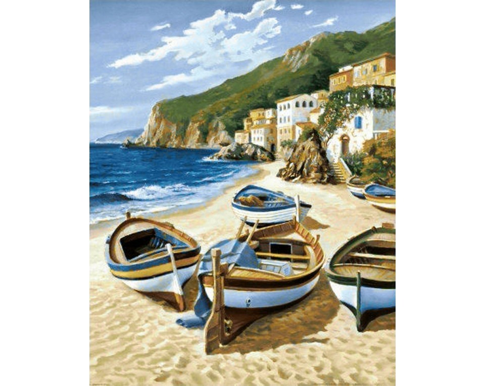 craftvim diamond painting kit sail boats